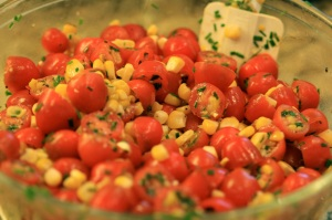 tomato and corn salad